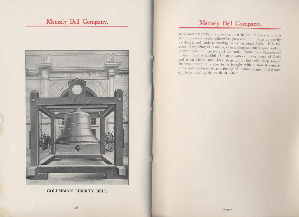 Columbian Liberty Bell ; history of bells,  Image number:SIL-038-75-25