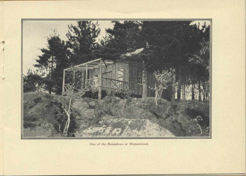 Bungalow at Camp Megunticook,  Image number:SIL-038-82-12