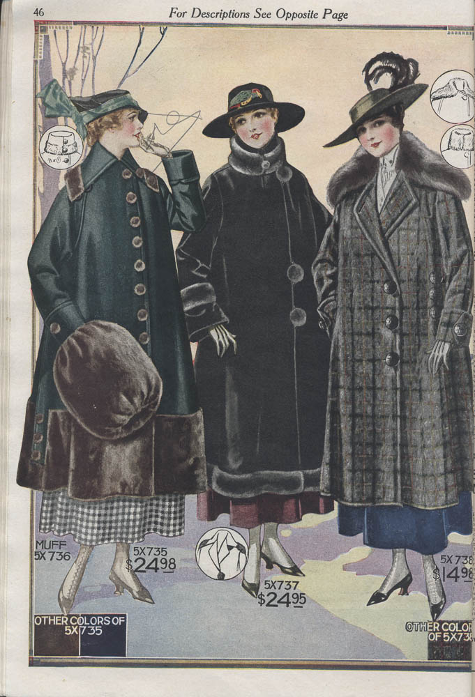 Women's coats,  Image number:SIL-038-83-10