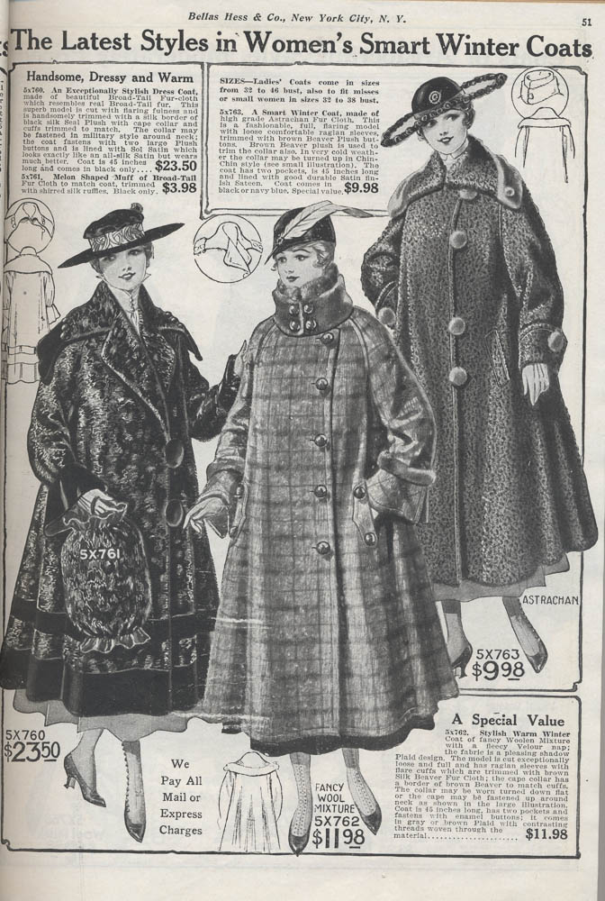 Women's coats,  Image number:SIL-038-83-13
