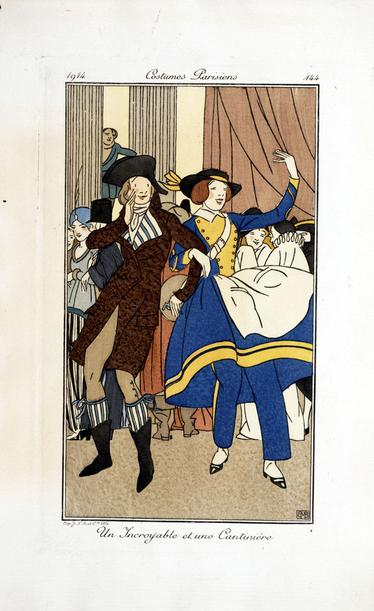 Costumes Parisiens,  Image number:SIL33-057-02
