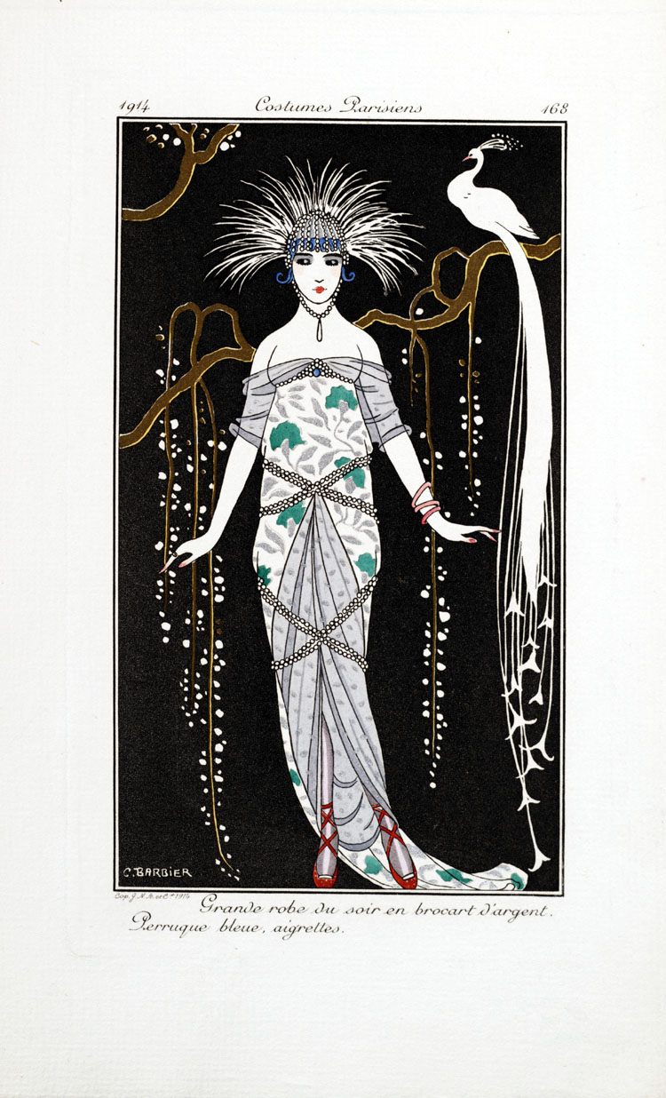 Costumes Parisiens,  Image number:SIL33-057-14