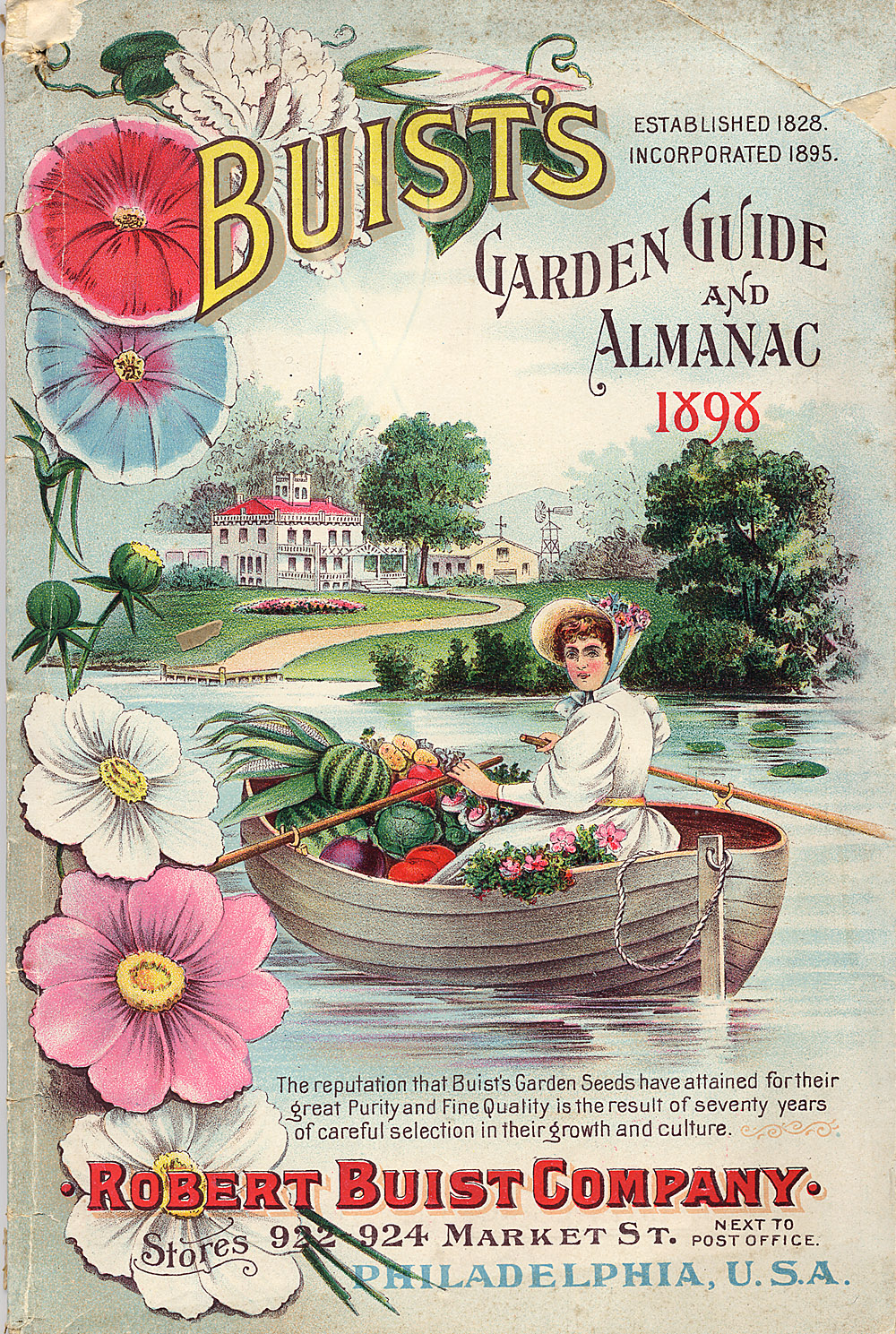 Buist Seed Company, Buist's Garden Guide and Almanac 1898