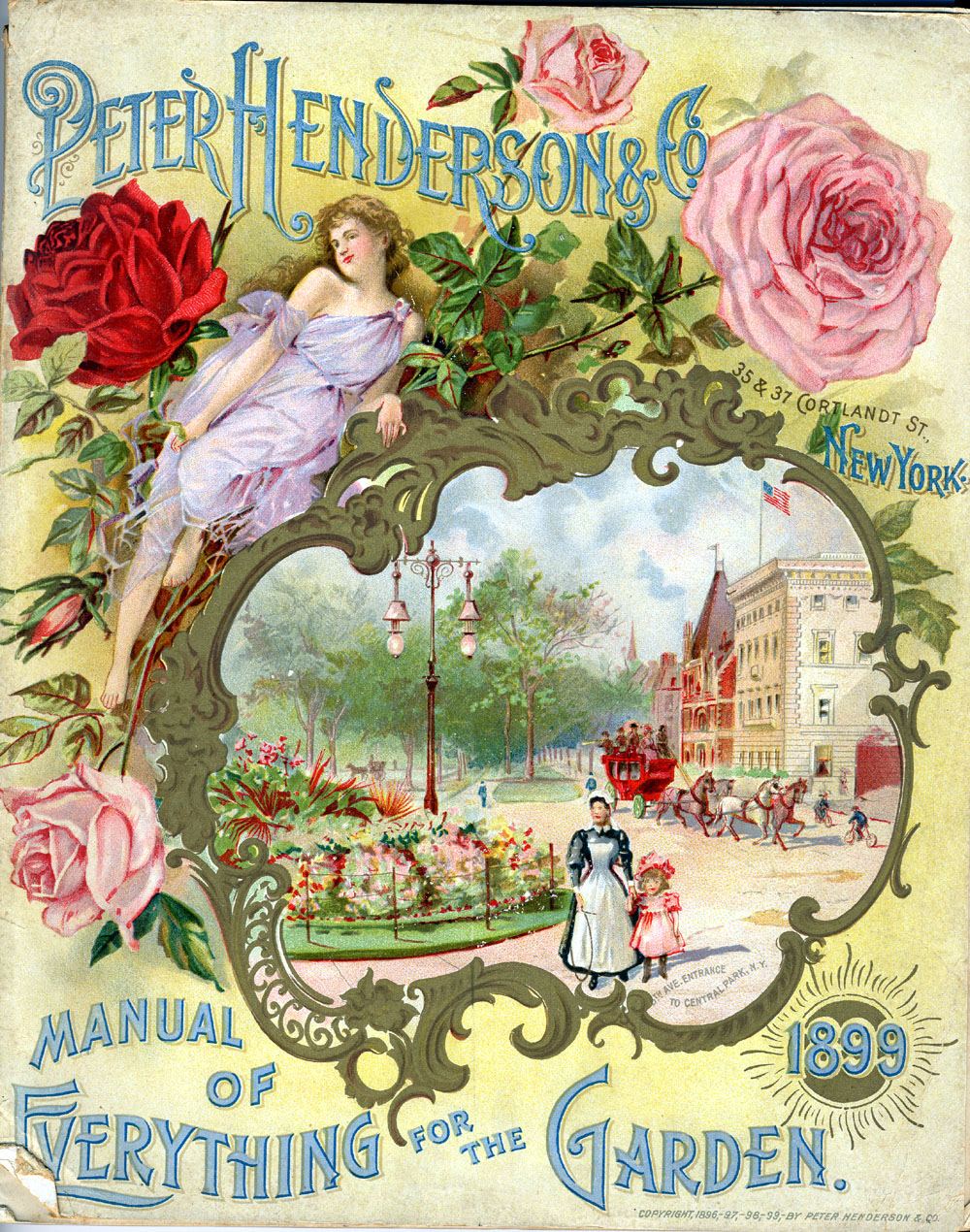 Peter Henderson & Co., Manual of Everything for the Garden, 1899, Front Cover