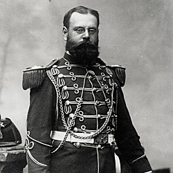John Philip Sousa in uniform as the leader of the U.S. Marine Band