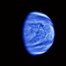 Images of Venus: UV Image of Venus Showing Cloud Patterns.