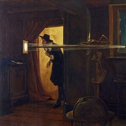 Jeremiah Horrocks Watching the Transit of Venus in 1639