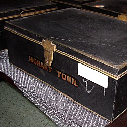 Boxes containing records of the 1874 U.S. Naval Observatory transit-of-Venus expeditions