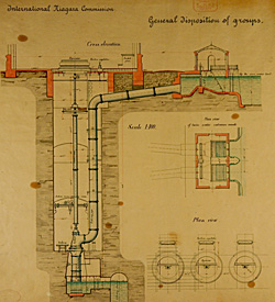 125,000-HP hydraulic scheme for Niagara Falls