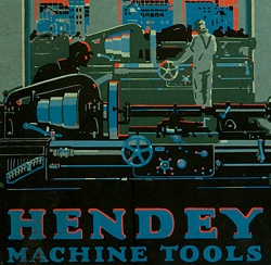 Hendey Machine Tools, catalog cover