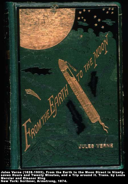 Book cover of <em>From Earth to the Moon</em> by Jules Verne,  Image number:1-24-Verne
