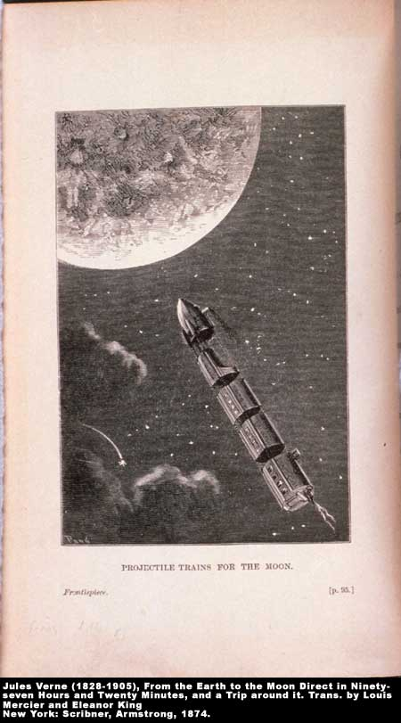 Projectile Trains for the Moon,  Image number:4-15-Verne