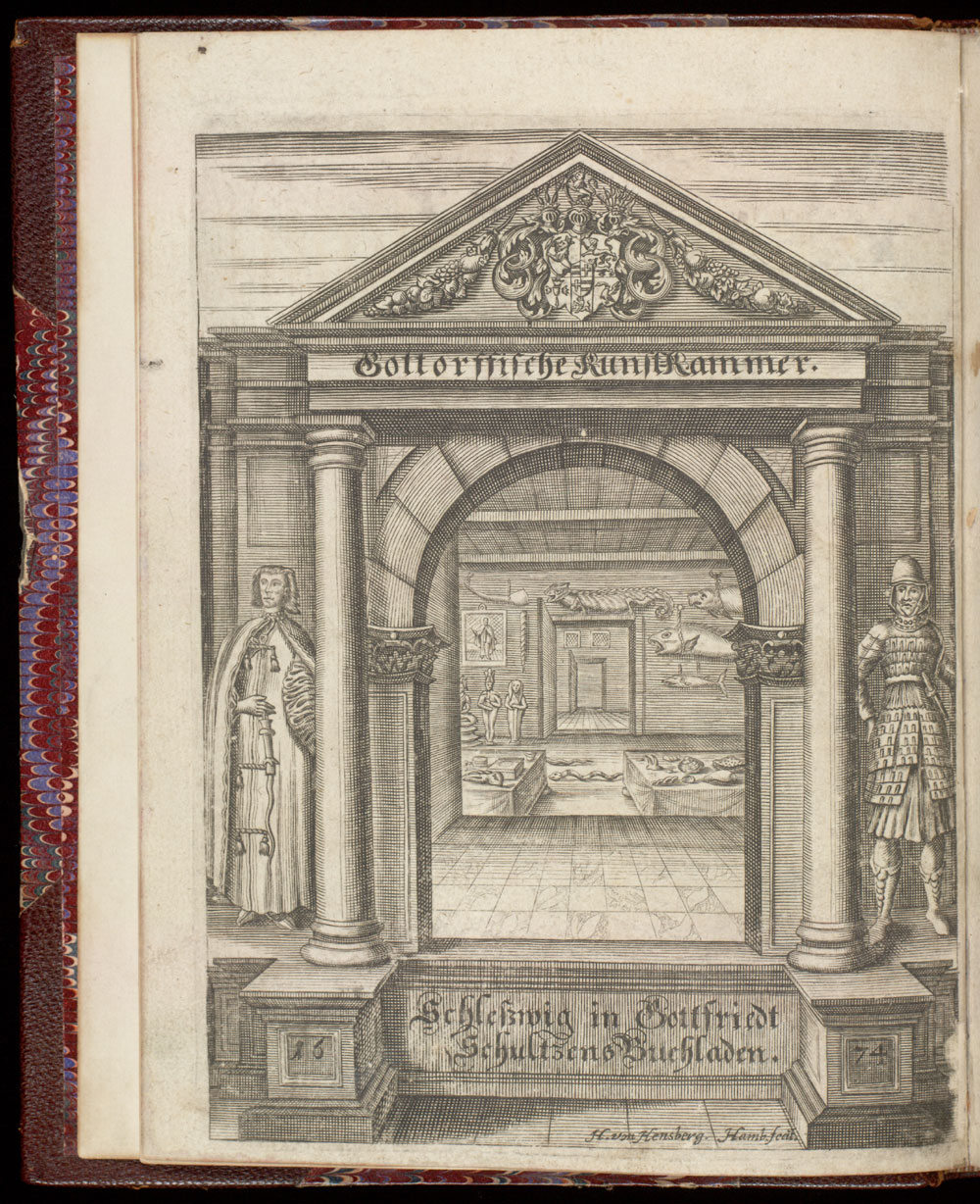 Frontispiece: Entrance to museum room,  Image number:SIL21-19-001