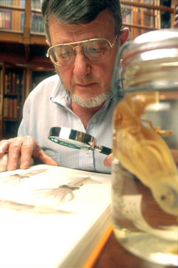 A curator of invertebrate zoology from the National Museum of Natural History