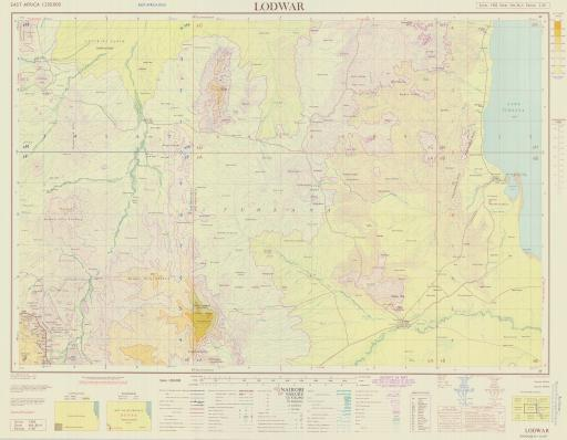 Map of Lodwar