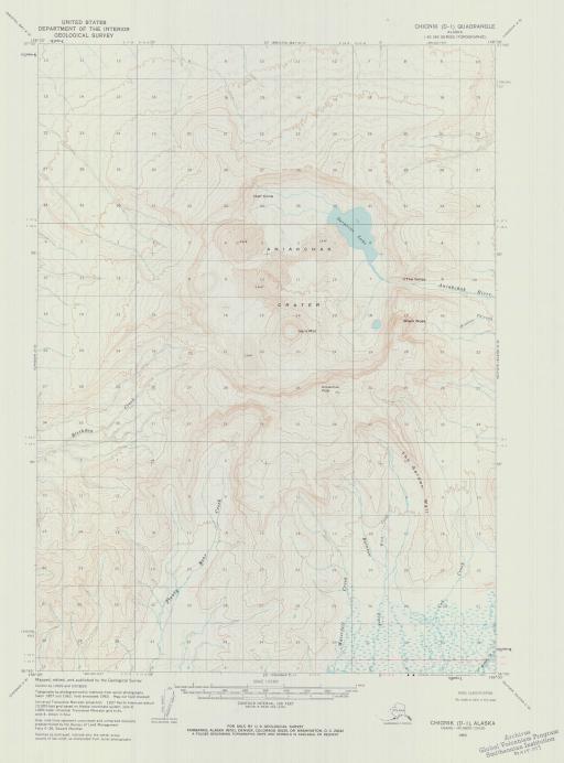 Map of Chignik (D-1)
