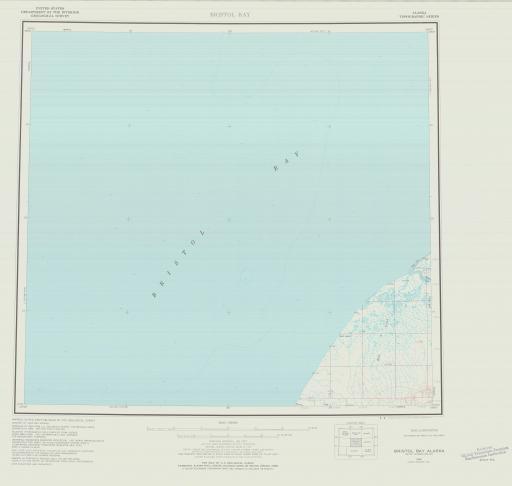 Map of Bristol Bay