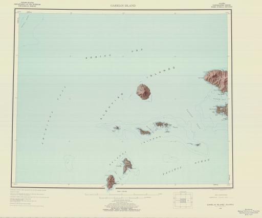 Map of Gareloi Island