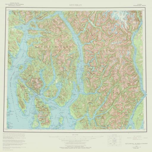 Map of Ketchikan