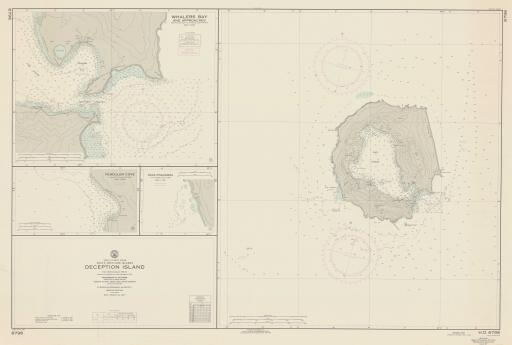 Map of Deception Island
