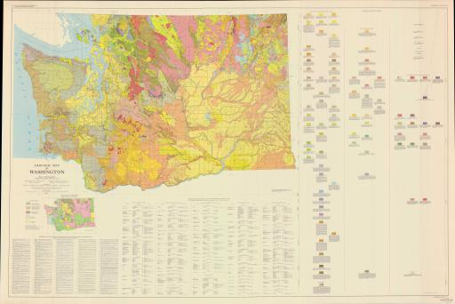 Map of Geol Map of WA