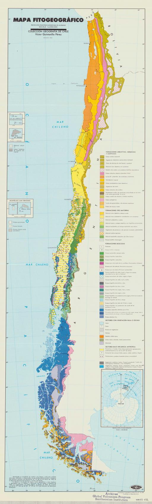 Map of Mapa Fitogeografico
