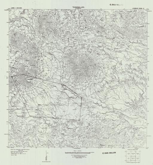 Map of Tasikmalaya