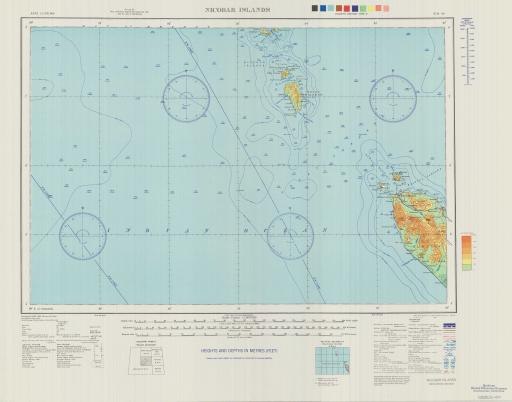 Map of Nicobar Islands