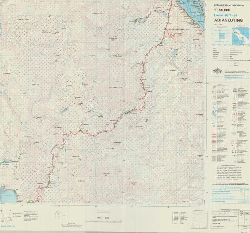 Map of Adiankoting