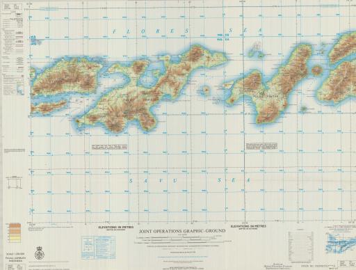 Map of Pulau Lomblen