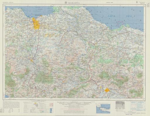 Map of Djakarta