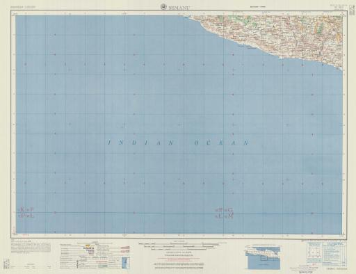 Map of Semanu