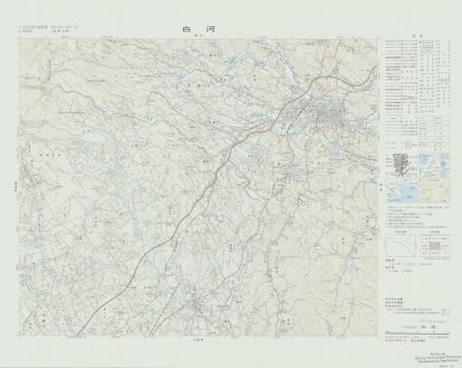 Map of Shirakawa