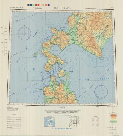 Map of Hakodate