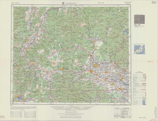 Map of Nagano