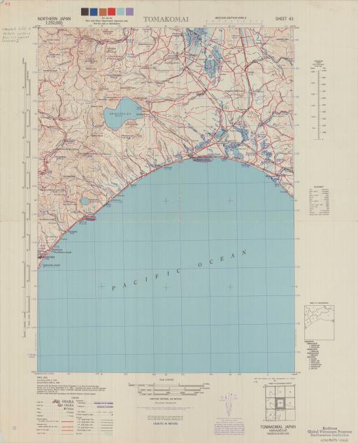 Map of Tomakomai
