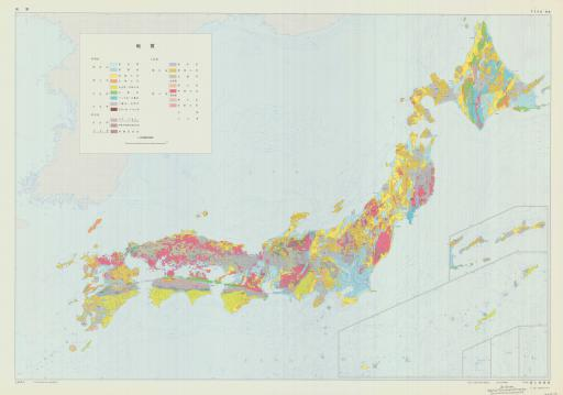 Map of (Japanese) Geol map of Japan