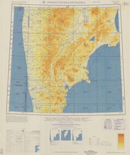 Map of Petropavlosk-Kamchatskiy