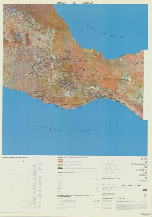 Map of Estado de Oaxaca