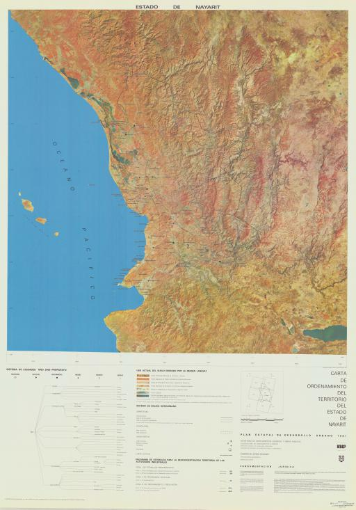 Map of Estado de Nayarit