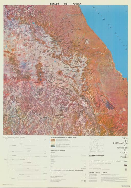 Map of Estado de Puebla