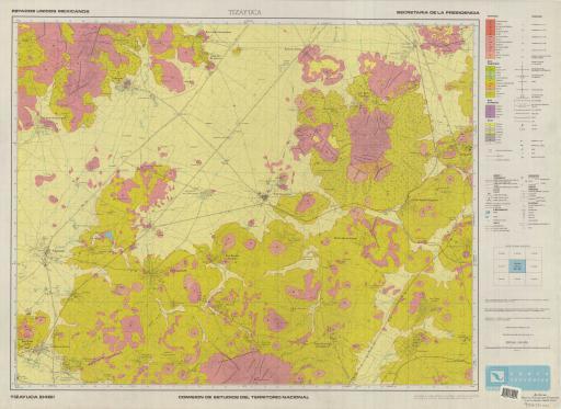 Map of Tizayuca