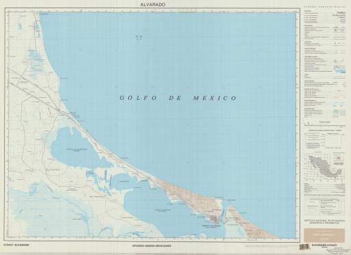 Map of Alvarado