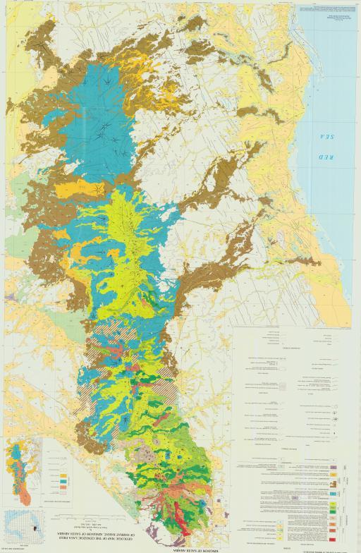 Map of Geologic Map of the Cenozoic Lava Field of Harrat Rahat, Kingdom of Saudi Arabia