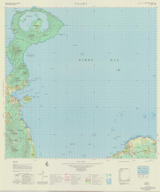 Map of Talasea