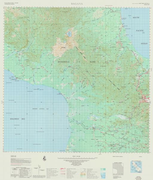 Map of Bagana