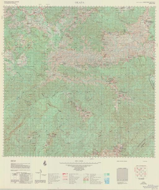 Map of Okapa