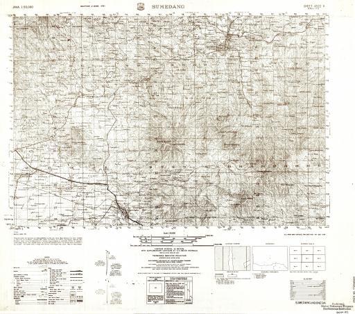 Map of Sumedang