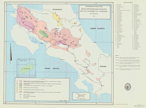 Map of Mapa del Vulcanismo Plio-Pleistoceno