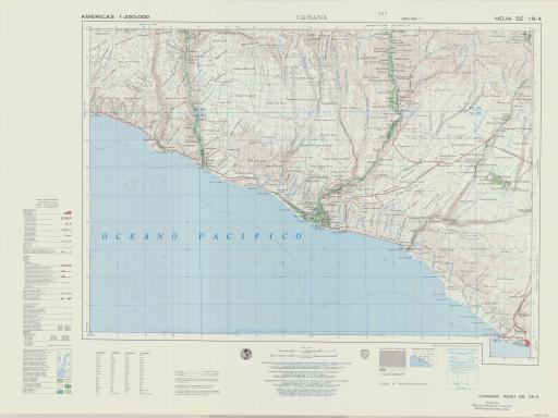 Map of Camana